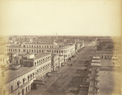 Old Court House Street, Calcutta, looking [south]